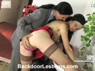 Joan And Ninon Lustful Anal Lesbian Movie