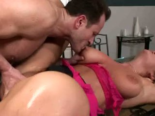 Breasty Christina Jolie Acquires Her Soaking Wet Twat Rammed With Stiff Hard Cock