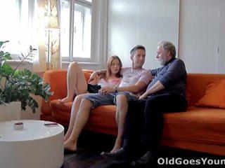 Old goes young: ýaşlar sveta fucked by old man