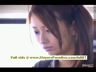 Nao yoshizaki sexy asia rumaja on the bis