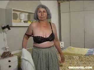 古い, 古い, おばあちゃん, ストリップ