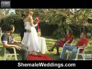 Wadam weddings proudly hadiah senna, camile, patricia_bismarck di porno adegan