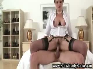 brittiskt, cumshot, fria femdom bäst