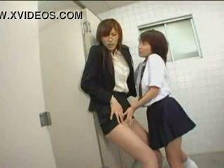 japonski, javni, hlačne nogavice