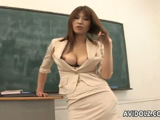 Hot hot ai kurosawa reged guru with huge