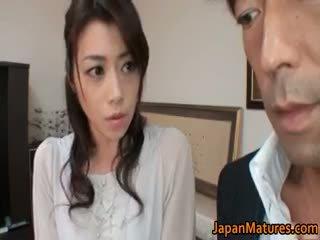 japonez, sex în grup, sanii mari, matur
