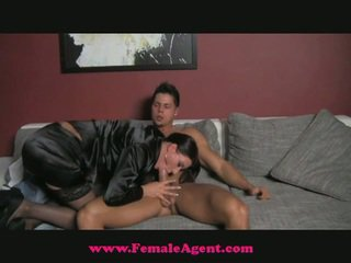 Female agent snags another boy for her fun