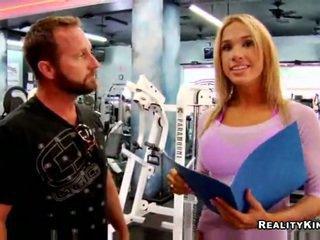 Fucking a fitness model