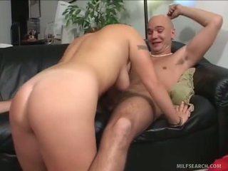 Topless abbronzarsi milf fucks peeping tom