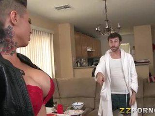 Massive boobs slut christy mack asshole screwed up hard