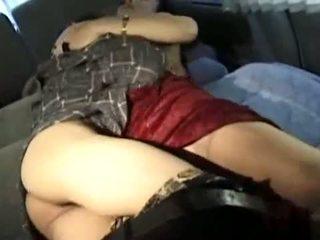 Vyzreté ázijské puma fucks ju chudé mladý lover