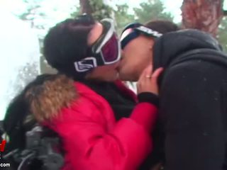 Cool cock sucking and real sex outdoors Video