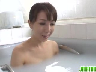 Japanese Matures: Gorgeous hot mature japanese sayuri ikuina in solo