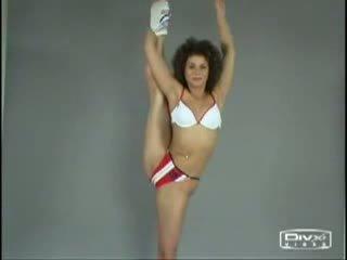 Nackt aerobic