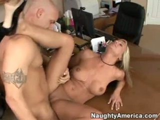 Office Whore Val Malone Gets Her Mouth Jizzed After A Wonderful Hawt Fuck