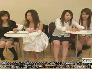 Subtitled japonais amateur quiz jeu friends regarder sexe