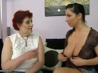Gjyshja porno