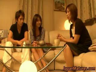 ญี่ปุ่น แก่แล้ว ผู้หญิง มี a เซ็กส์สามคน part4
