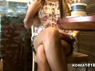 voyeur, massage, koreansk