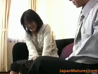 Vyzreté skutočný ázijské žena getting part3