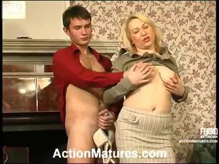 Hot Action Matures Video Starring Christie, Vitas, Sara
