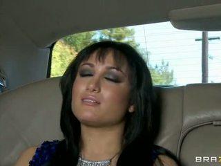 Gabriella fucked në the limo video
