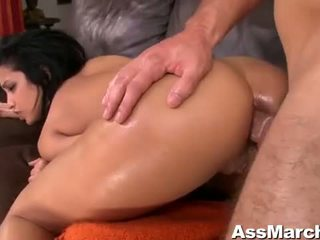 Sexy Ass Latina babe Abella Anderson Anal Fucked Video