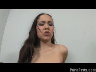 Messy Teen Bitch Amai Liu Getting Her Big Cock Fix
