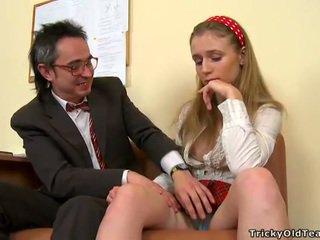 cazzo, studente, sesso hardcore, sesso orale