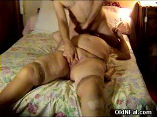 granny sex, fat ass, toys dildo brutality