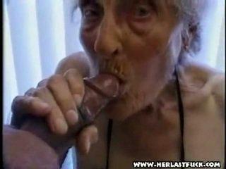 Duro xxx envejecida grandmother porno