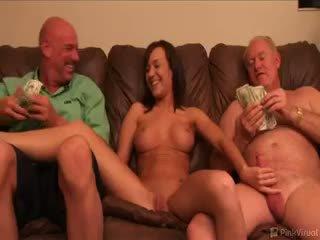 blowjob, threesome, mature