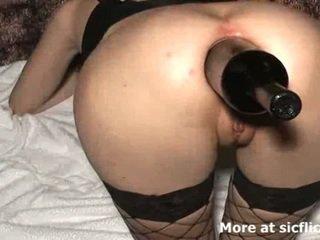 Extrem anal fisten und flasche gefickt flittchen