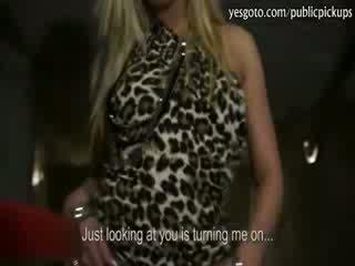 Kinky amateur blondie girlfriend Barra Brass all holes assault