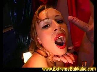deepthroat, cowgirl, cum in mouth