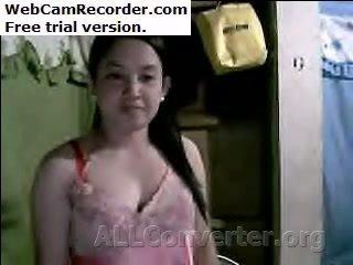 Filipino дівчина туга волохата манда і ідеальна титьки