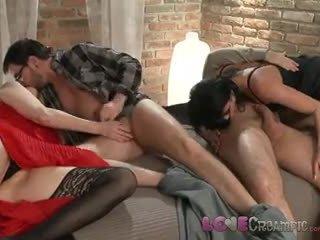 Láska creampie two zralý máma jsem rád šoustat swingers podíl husbands cocks v nezbedný orgie