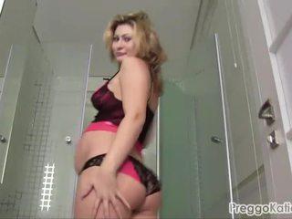 pregnant, shower, fetish, preggo