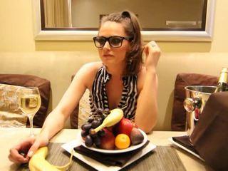 Tori Black Loves Bananas And Takes Them