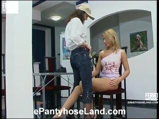 Moni And Antoinette Kinky Hose Film