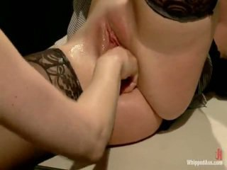 Dirty Lesbie Prisoner Dominates, Punishes And Fist Has Sex Her Sexy Lawyer!