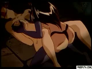 Hentai κορίτσι από πίσω με τραβεστί