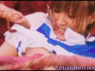 เอเลี่ยน tentacles เพศสัมพันธ์ ญี่ปุ่น วัยรุ่น!