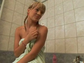 Brunette ZafIra STeams Up For A LesBian Actionionionion With Her Ally In Tthis Lad Shower