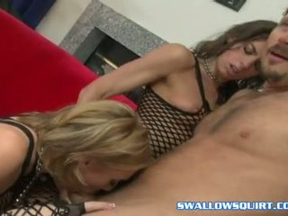 Lustful Babe Sierra Sin Shares A Huge Pole Jointly With Her Lusty Wild Friend
