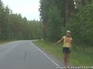 How did this pirang rumaja hitchhiker end up all alone on a