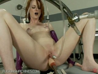 Scarlet Head Bush Got Laid By Several Devicxes In Daffy Making Love Device Vid