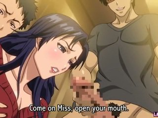Hentai Babe Gets Gangbanged