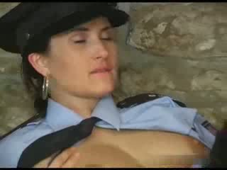 Female police forced prisoner to fuck her Video