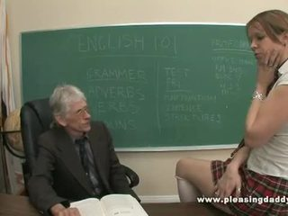 Muda gadis sekolah fucked oleh beliau lama guru